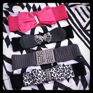 Accessories - Belts bundle
